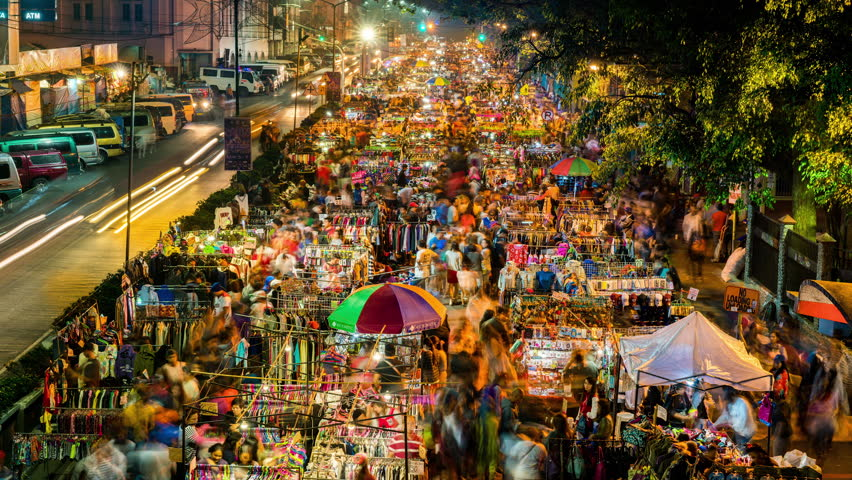 10 best places to eat in Baguio - Baguio Night Market