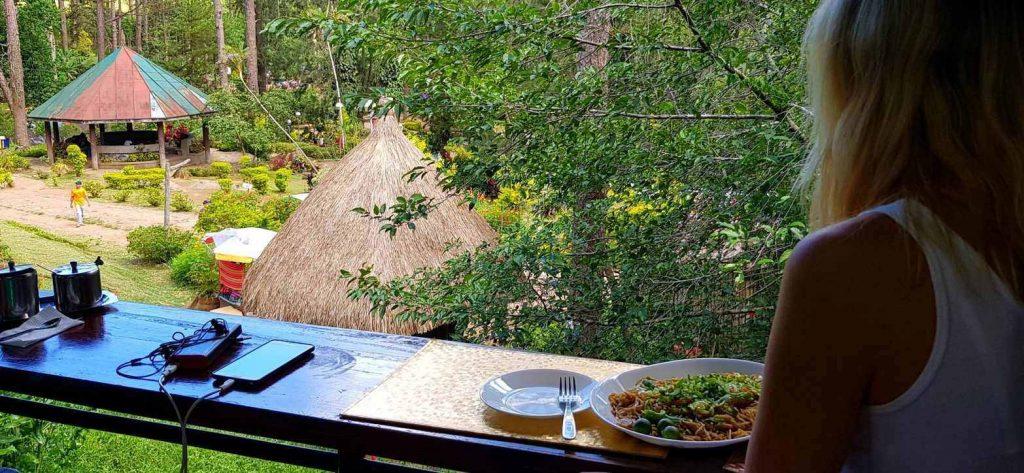 Baguio Botanical Garden - The Garden Diner