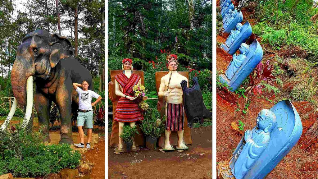 Estralians visiting Baguio