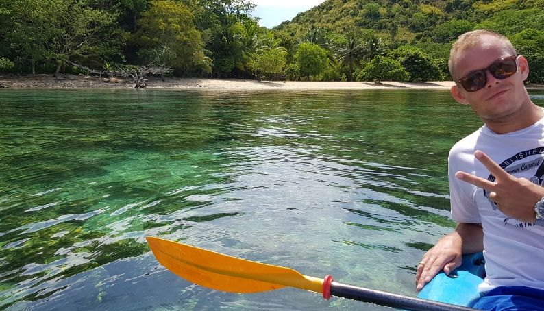 Kayaking North Busuanga