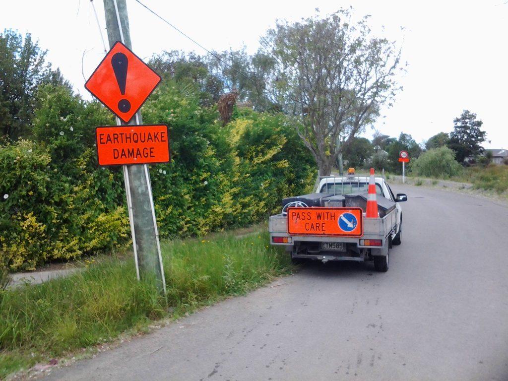 Estralians in Christchurch - Work Ute