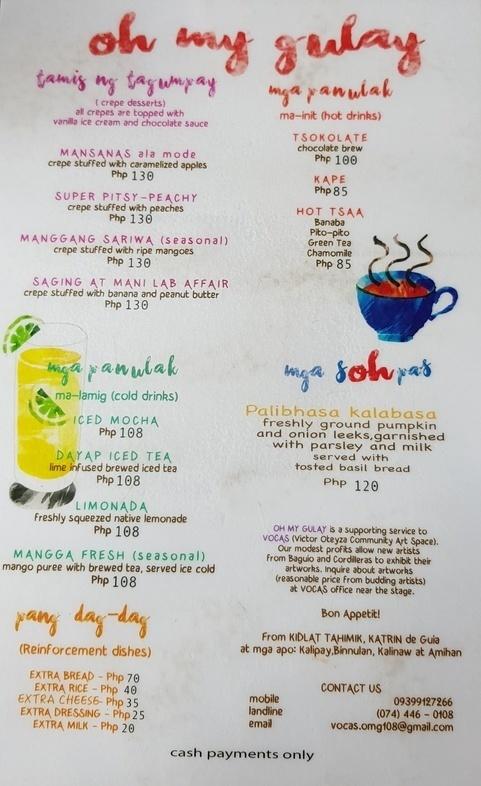 Oh My Gulay Vegetarian Restaurant Baguio