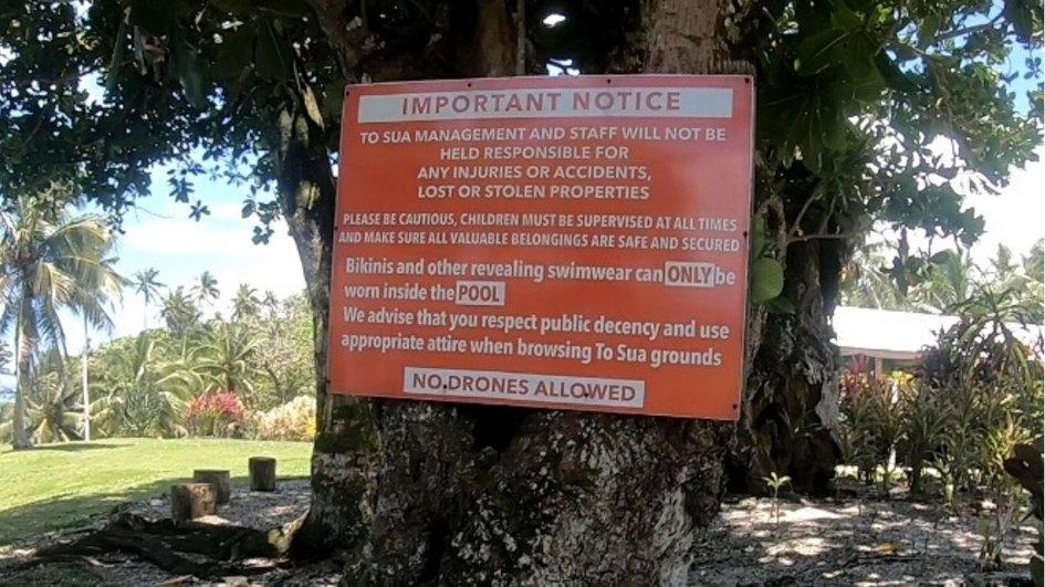 Rules in samoa