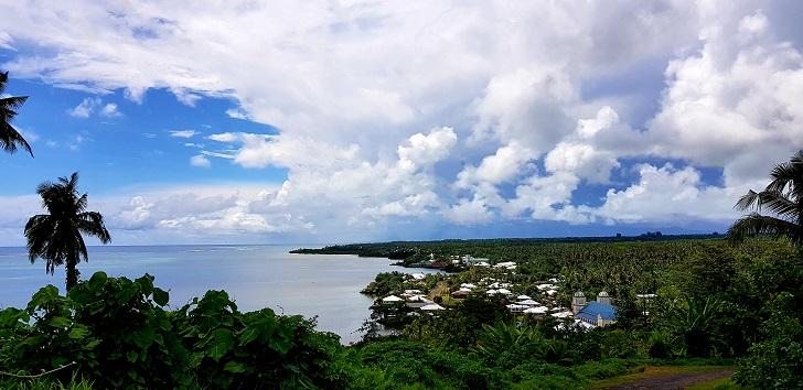 Driving in Samoa