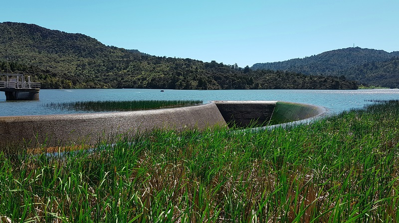 Lower Nihotupu Dam in Waitakere Ranges