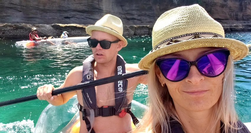Goat Island Clear Kayaks