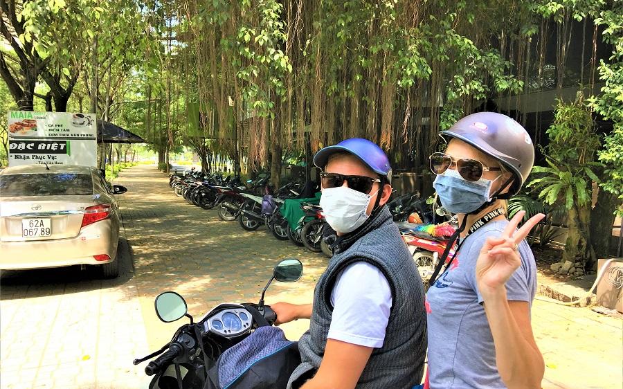 Riding in Vietnam