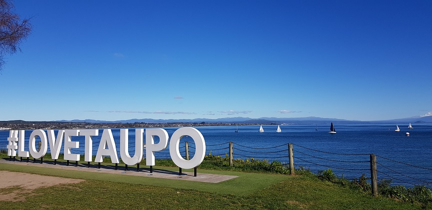Lockdown Level2 in Taupo, New Zealand