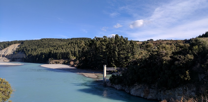 Best hike at the Rakaia Gorge, New Zealand
