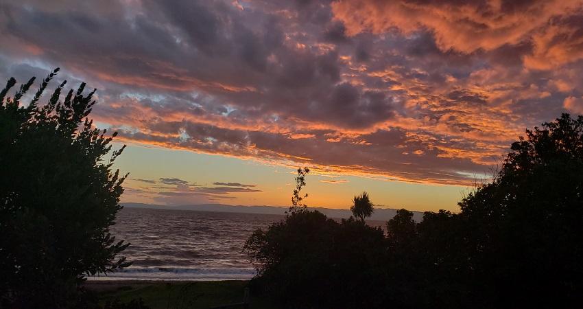 Best sunset in New Zealand